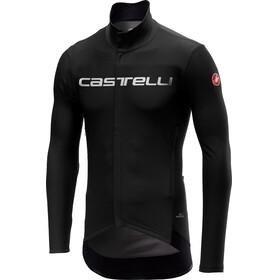 Castelli Perfetto Miehet Pyöräilypaita pitkähihainen , musta